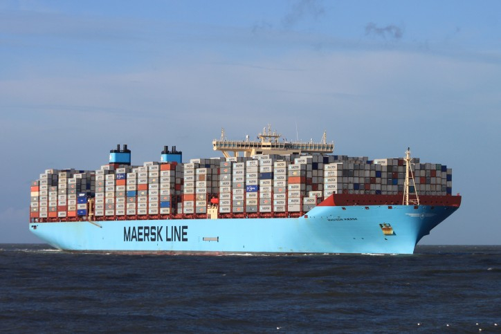 Video: Madison Maersk Leaves Rotterdam with Record Load