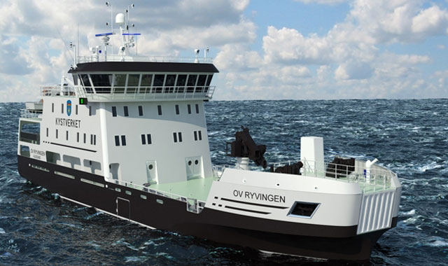 Rolls-Royce to supply second hybrid system to Norwegian Coastal Administration vessel