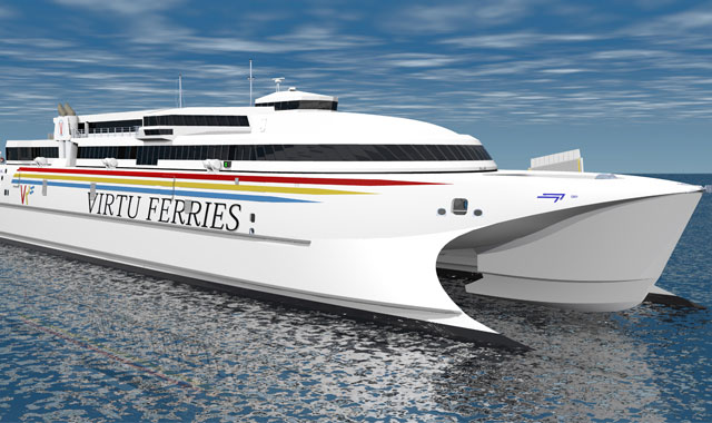 Rolls-Royce uses MTU propulsion for biggest High-Speed Catamaran in the Mediterranean