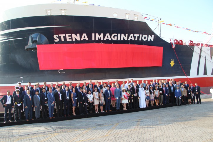 Stena Bulk MR Tanker Stena Imagination Named In Dubai