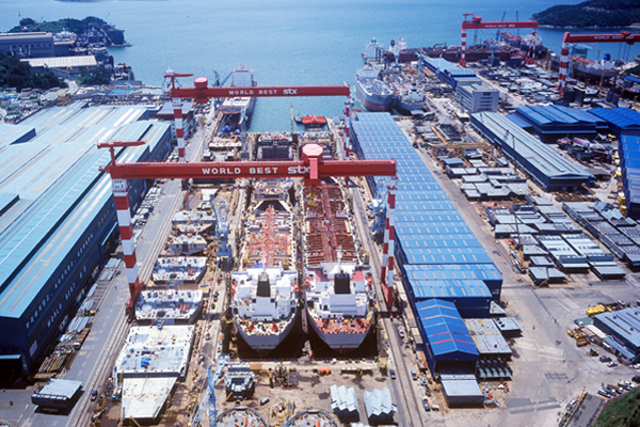 South Korean Shipbuilder STX Offshore Files for Receivership