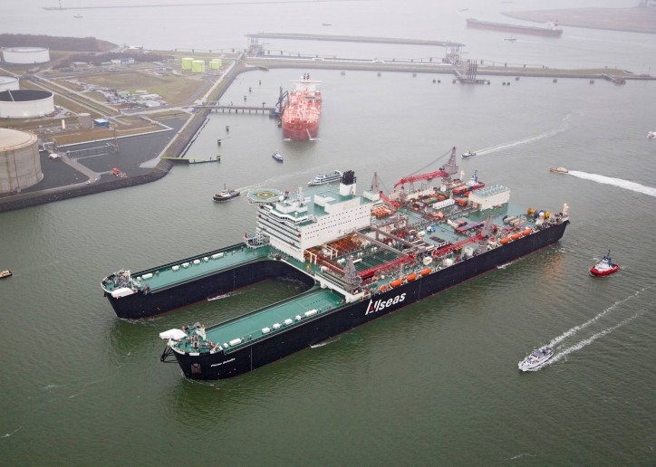 Watch: Awesome drone video of the heaviest ship in the world - Pioneering Spirit