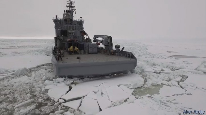 FNS Louhi and OPV Turva - Full Scale Ice Trials 2016 (Video)