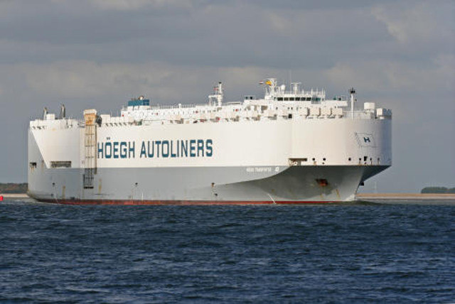 Car carrier Hoegh Transporter seized at Mombasa port