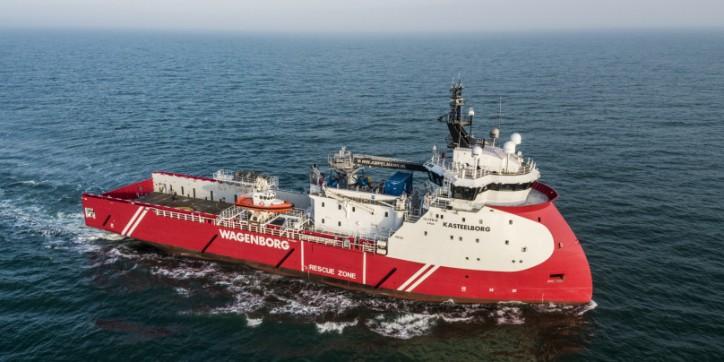 Wagenborg Offshore walk to work vessel Kasteelborg put into service
