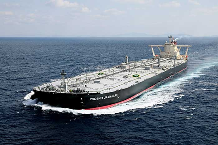 MOL Takes Delivery of Very Large Crude Carrier PHOENIX JAMNAGAR