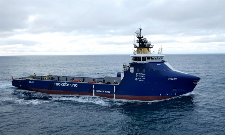 Simon Møkster Shipping AS awarded contract with Lundin Norway AS for the state-of-the-art PSV Stril Mar