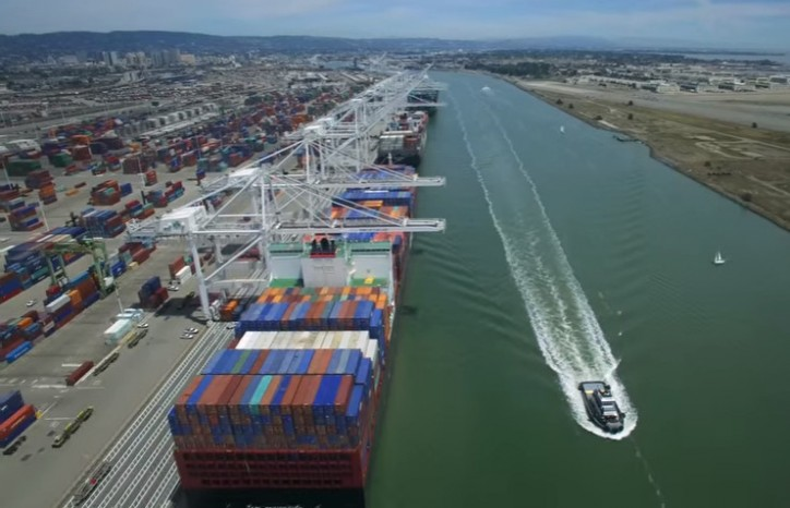 Port of Oakland cargo up 6 percent from a year ago