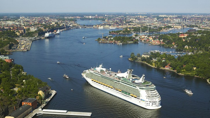 Cruise traffic generates EUR 176 million and 1,100 jobs in the Stockholm region