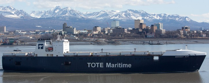 TOTE Maritime Named Top Ocean Carrier and Leader in Customer Service