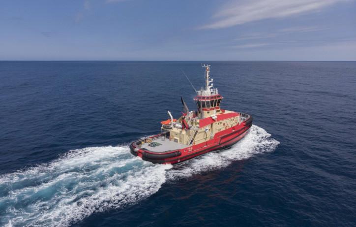 GONDAN delivered hybrid-powered icebreaking tug, VILJA