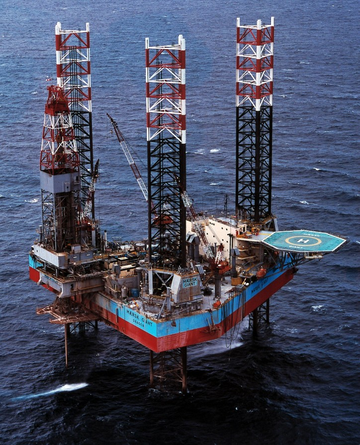 Maersk Drilling sells jack-up Mærsk Giant to an Independent O&G Operator