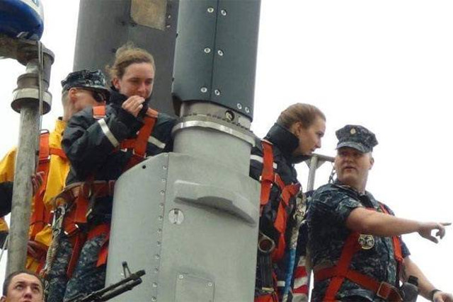 Female Submariners for the first time in the US Navy