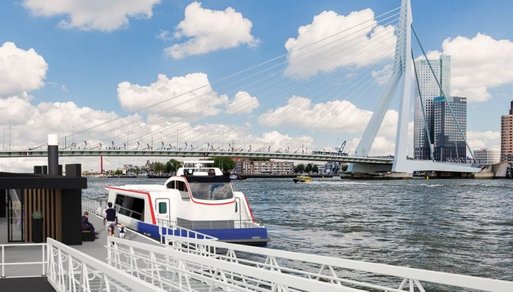 Damen unveils next generation Water Bus; First composite vessel set to launch