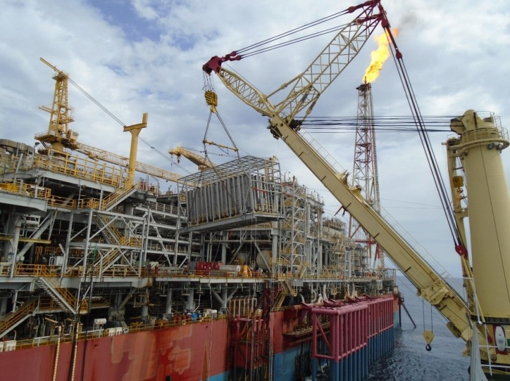 Jumbo safely installs CNIV module on ERHA FPSO in Nigeria