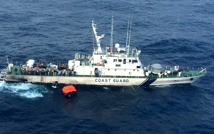 11 Indian Crew Rescued from Sunken Ship ITT Panther