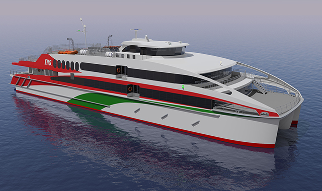 New Helgoland Catamaran to get MTU engines and Kamewa waterjets from Rolls-Royce