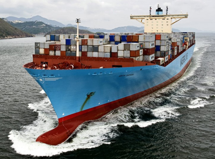 Maersk Group's Full-Year Profit Down 82 Pct