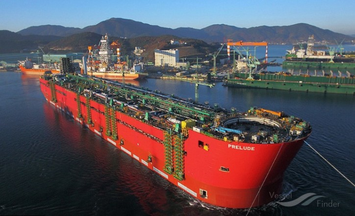 GTT announces a contract award for membrane cargo containment system services for Shell's Prelude FLNG facility