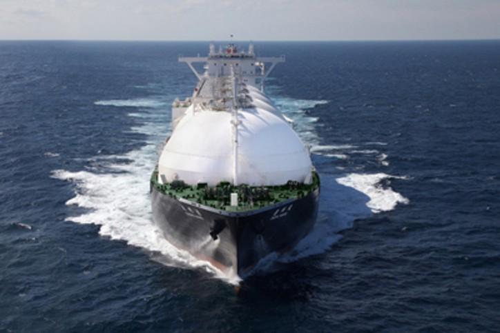 Kawasaki Heavy Industries Delivers LNG Transport Vessel ENSHU MARU