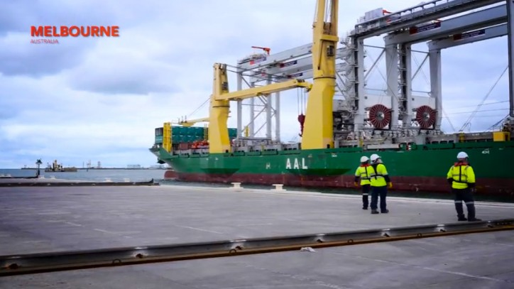 AAL Loads 4 Giant ASC Units On A Single Sailing – An Industry First! (Video)