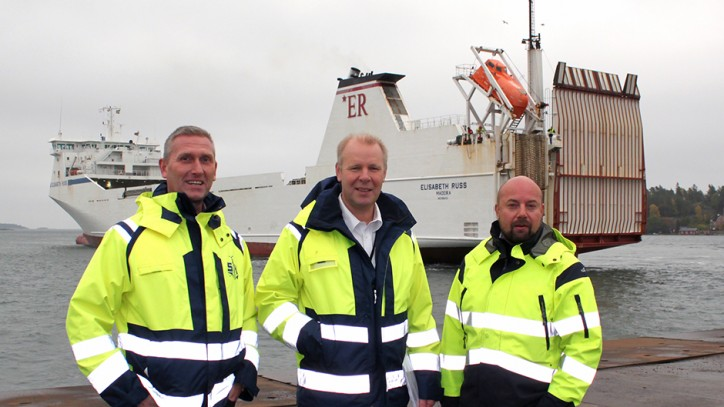 Ports of Stockholm welcomes the new Stena Line service between the Port of Nynäshamn - Gdynia