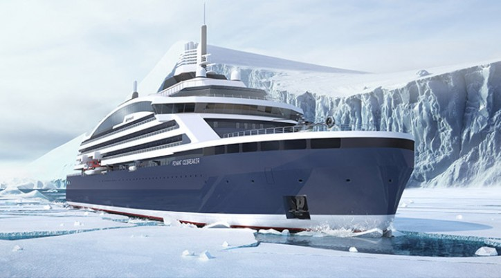 GTT concluded a contract with VARD for the supply of LNG tanks for the Ponant icebreaker