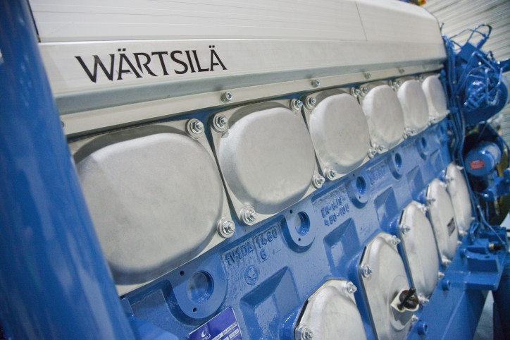 Wärtsilä delivers the 100th 20DF dual-fuel engine