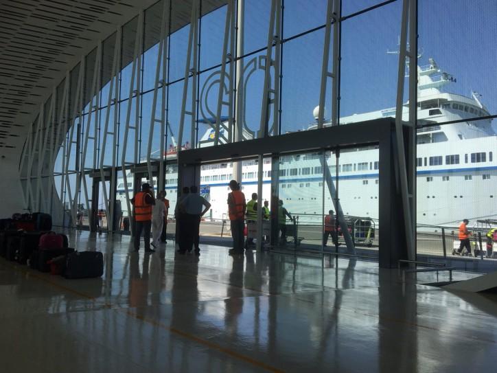 New passenger terminal opening at DP World Limassol Port, Cyprus