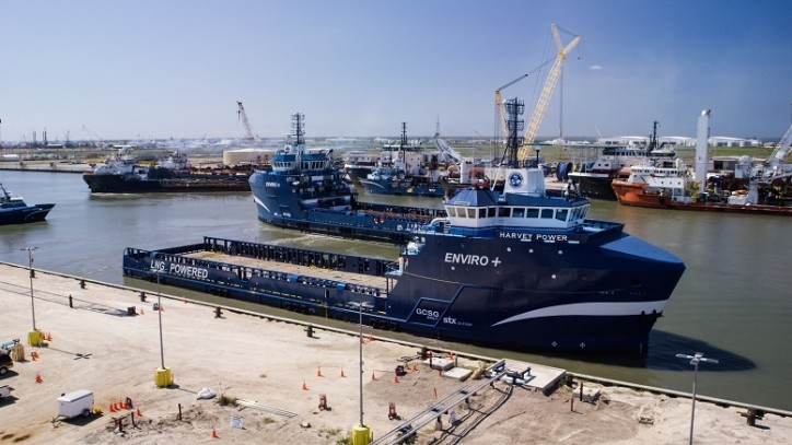 GCSG Delivers LNG OSV Harvey Power