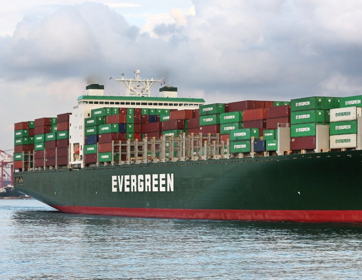 Evergreen confirms the order of ten 2,800teu container ships