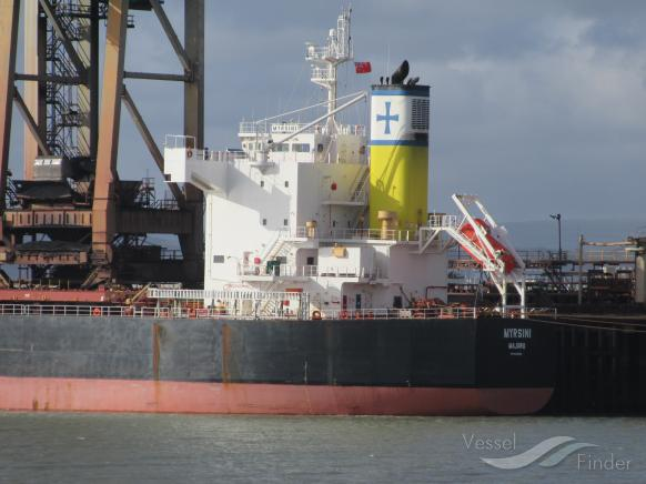 Diana Shipping Inc. Announces Time Charter Contract for mv Myrsini with Glencore