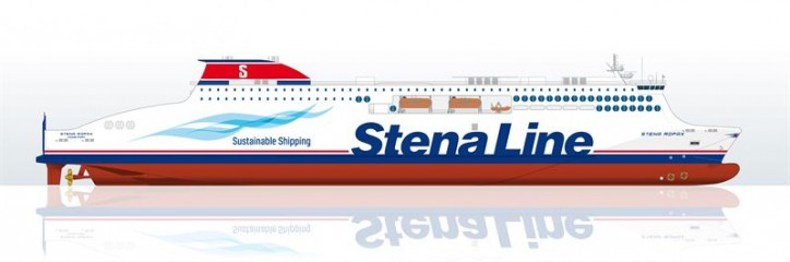 Deltamarin designs and supports construction of Stena ferry to be built in China