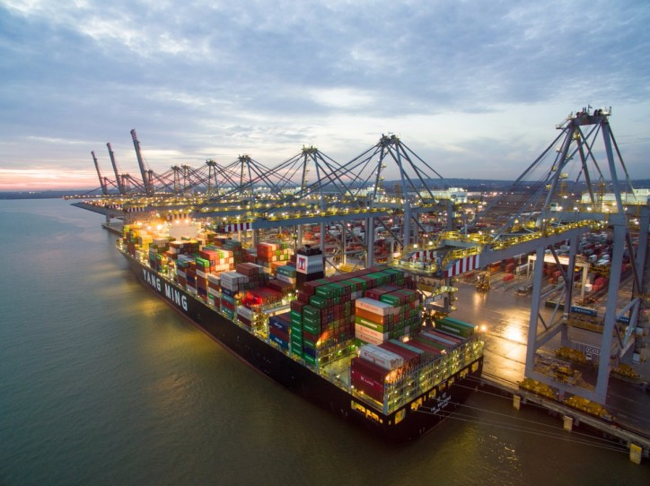 Shipping Alliance Chooses DP World's UK Ports For Ten Trade Routes To US And Asia