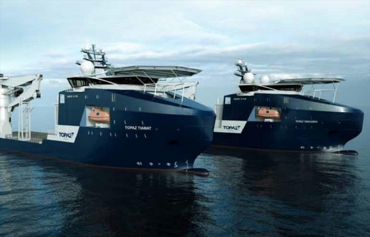 Topaz successfully contracts newbuild subsea vessel to work in renewables
