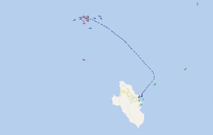 Costa Concordia starts final trip