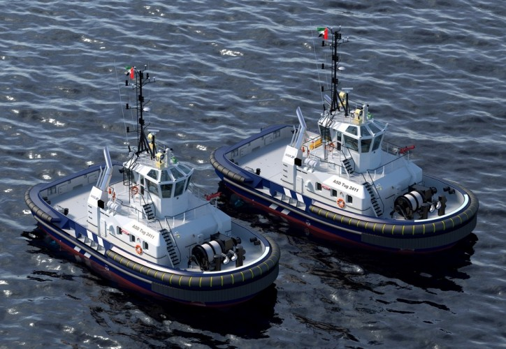 Damen Shipyards Group and Abu Dhabi Ports sign contract for two Damen ASD Tugs 2411