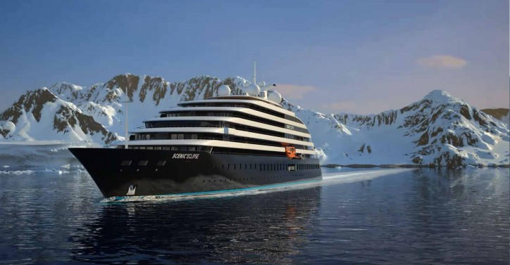 Scenic Eclipse - world's first six-star discovery cruise vessel