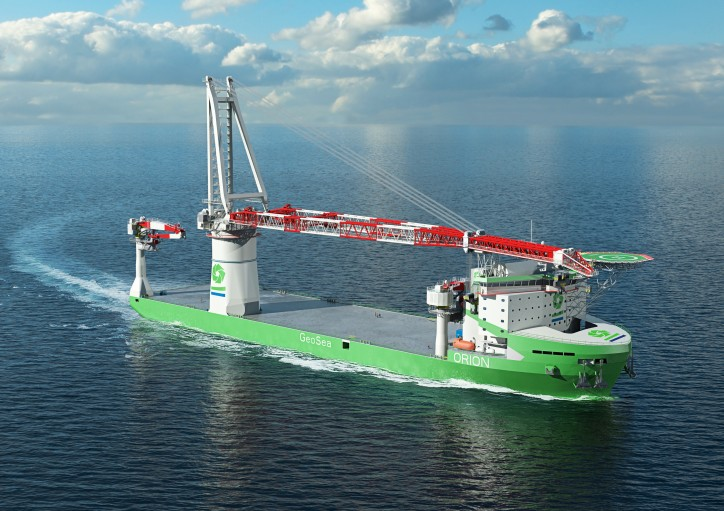 Wärtsilä to power world's first LNG fuelled offshore construction vessel