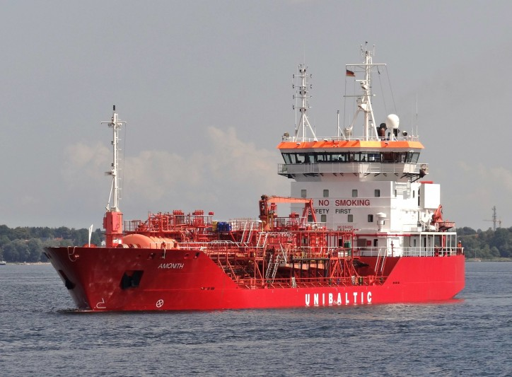 Chemical tanker Amonith lost propulsion power in English Canal