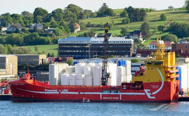 Aker BP contracts Eidesvik's LNG-fueled PSV Viking Lady