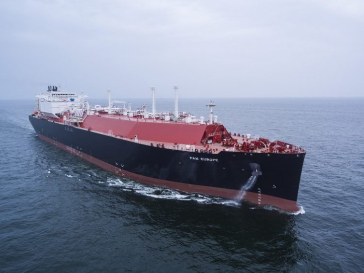 Teekay: LNG carrier Pan Europe Delivered
