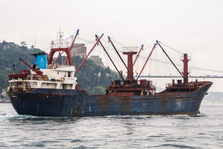 Collision In Bosphorus Strait Cargo Ship Sinks One Dead 8 Rescued Vesselfinder