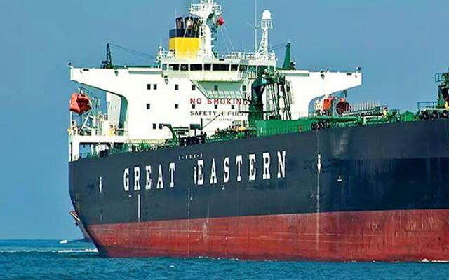 GE Shipping surges on taking delivery of a new building resale Kamsarmax Dry Bulk Carrier