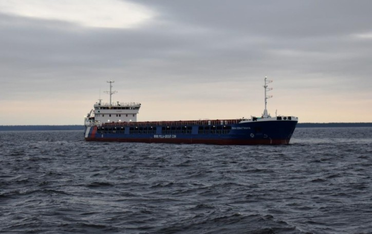 Nevsky Shipyard started sea trials of dry cargo vessel Pola Sevastiana