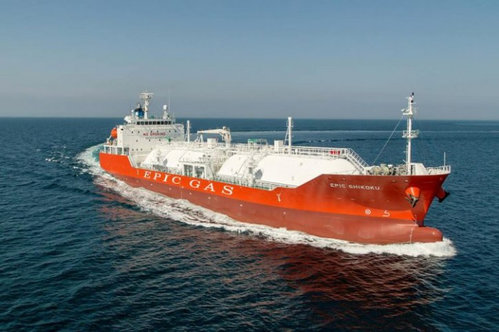 EPIC GAS Takes Delivery Of 11,000cbm Newbuilding