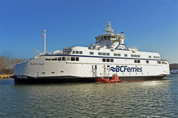 Second New Salish Class Vessel Sets Sail For B.C