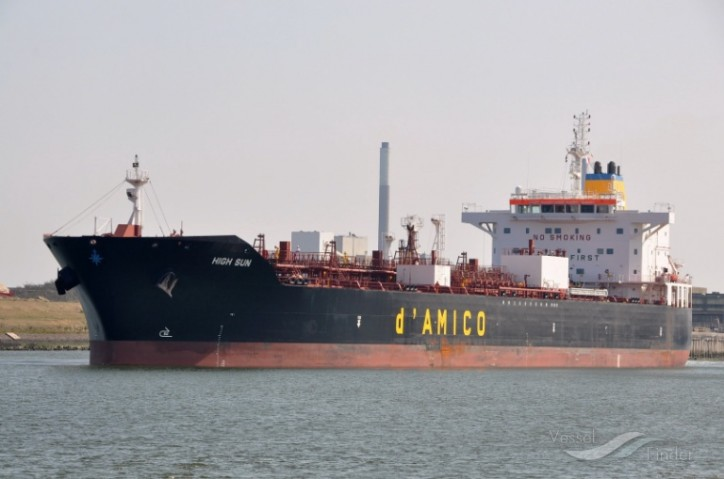 d'Amico International Shipping announces the sale of MT High Sun