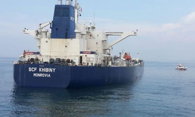 SCF Khibiny (IMO number 9224453 and MMSI 636011492)