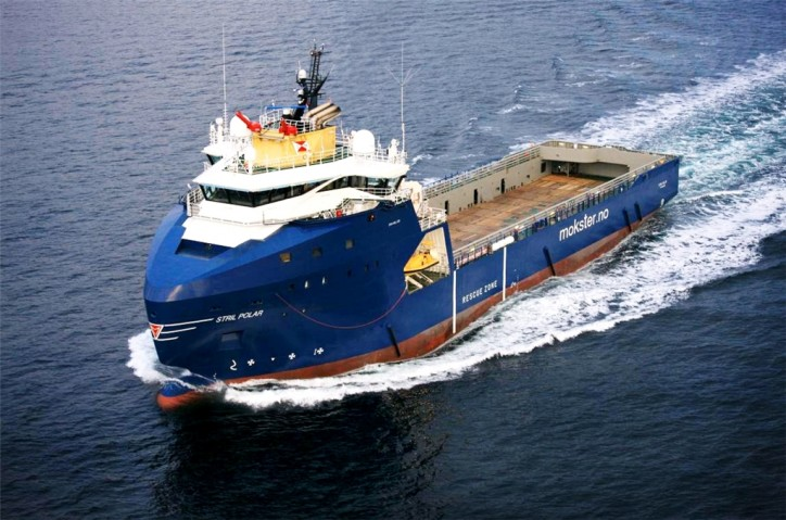 MV Stril Polar - First Norwegian vessel to comply with new IMO Polar Code